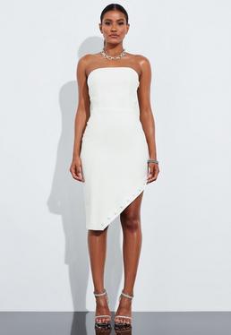 Миниатюрное платье с асимметричным подолом от Peace + Love Ivory