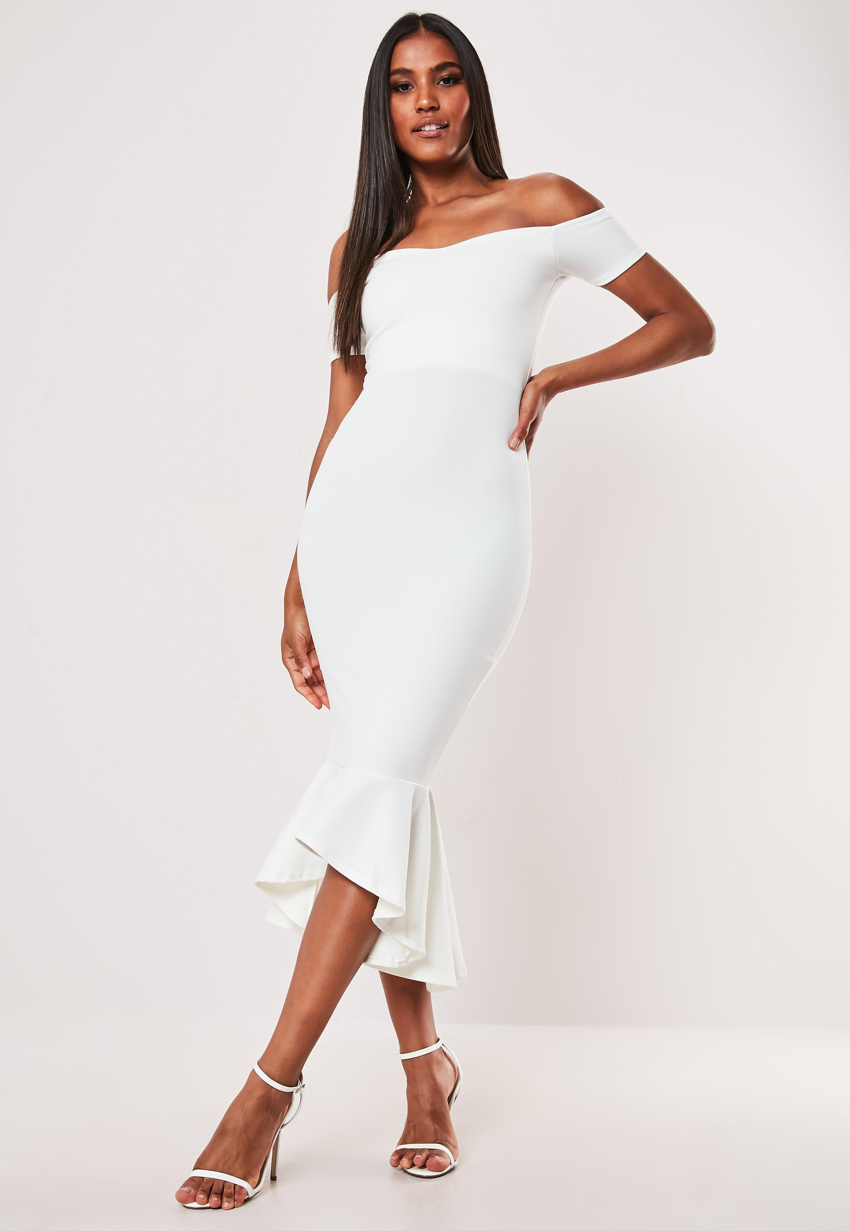 cca191cef0 Off the Shoulder Dresses - Bardot Dresses Online | Missguided