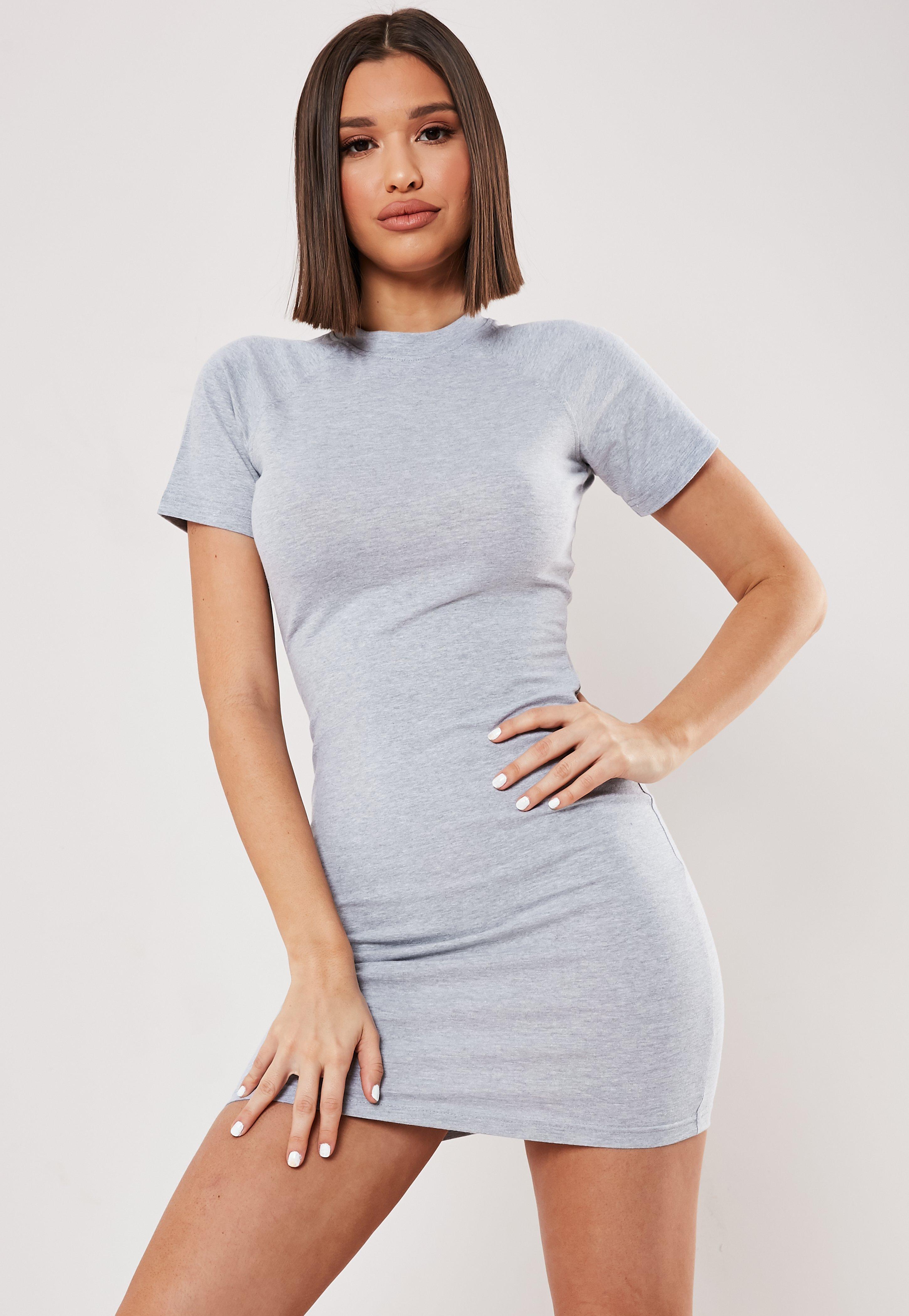 81eb077ff90ee Grey Dresses | Dark & Light Grey Dresses - Missguided Australia