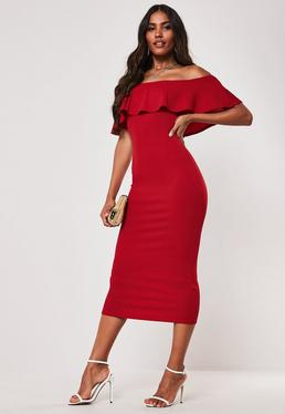 d6821cd44551 Off the Shoulder Dresses - Bardot Dresses Online | Missguided
