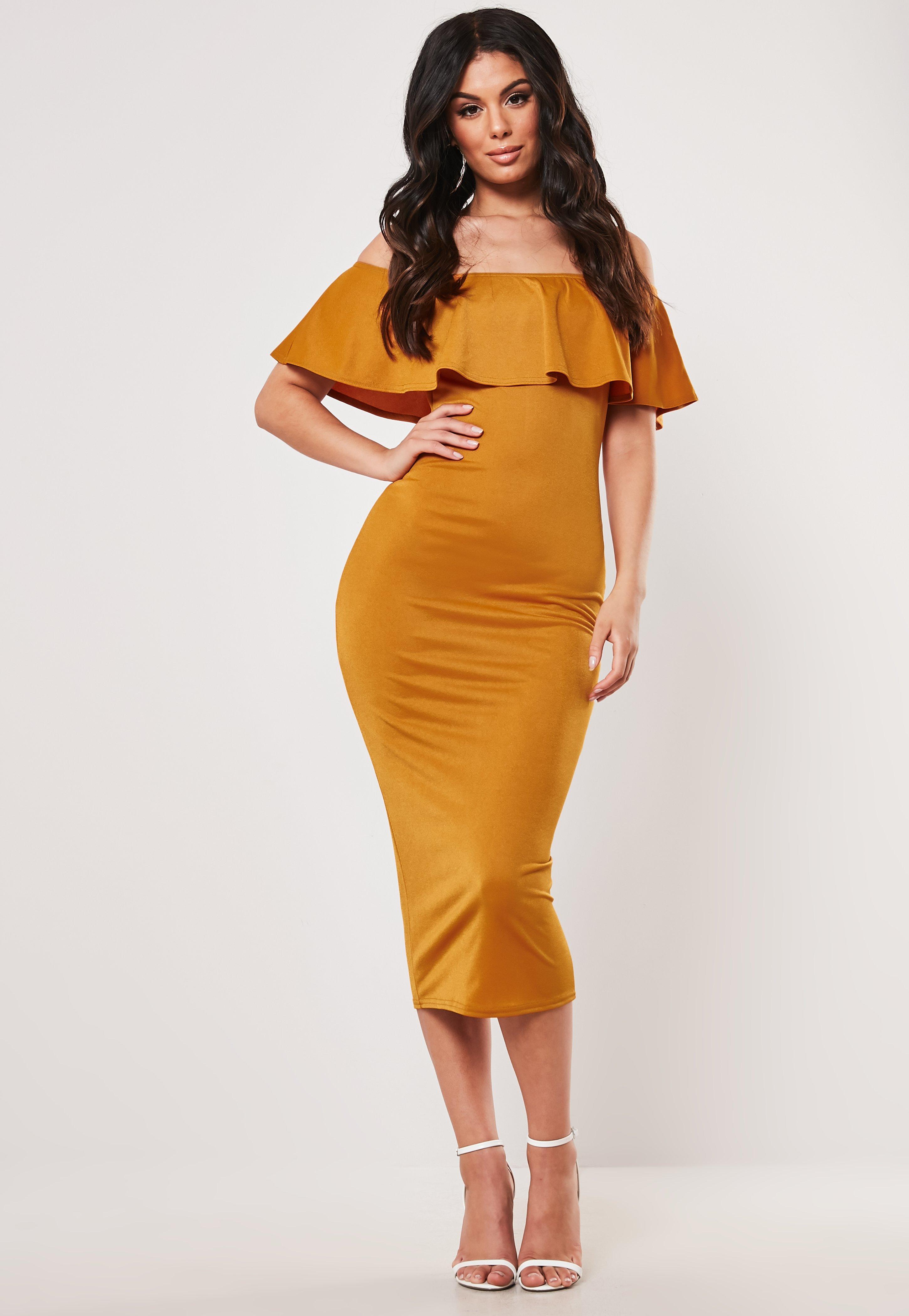6d29bf1b5f7e Bardot Dresses   Off The Shoulder Dresses - Missguided Australia