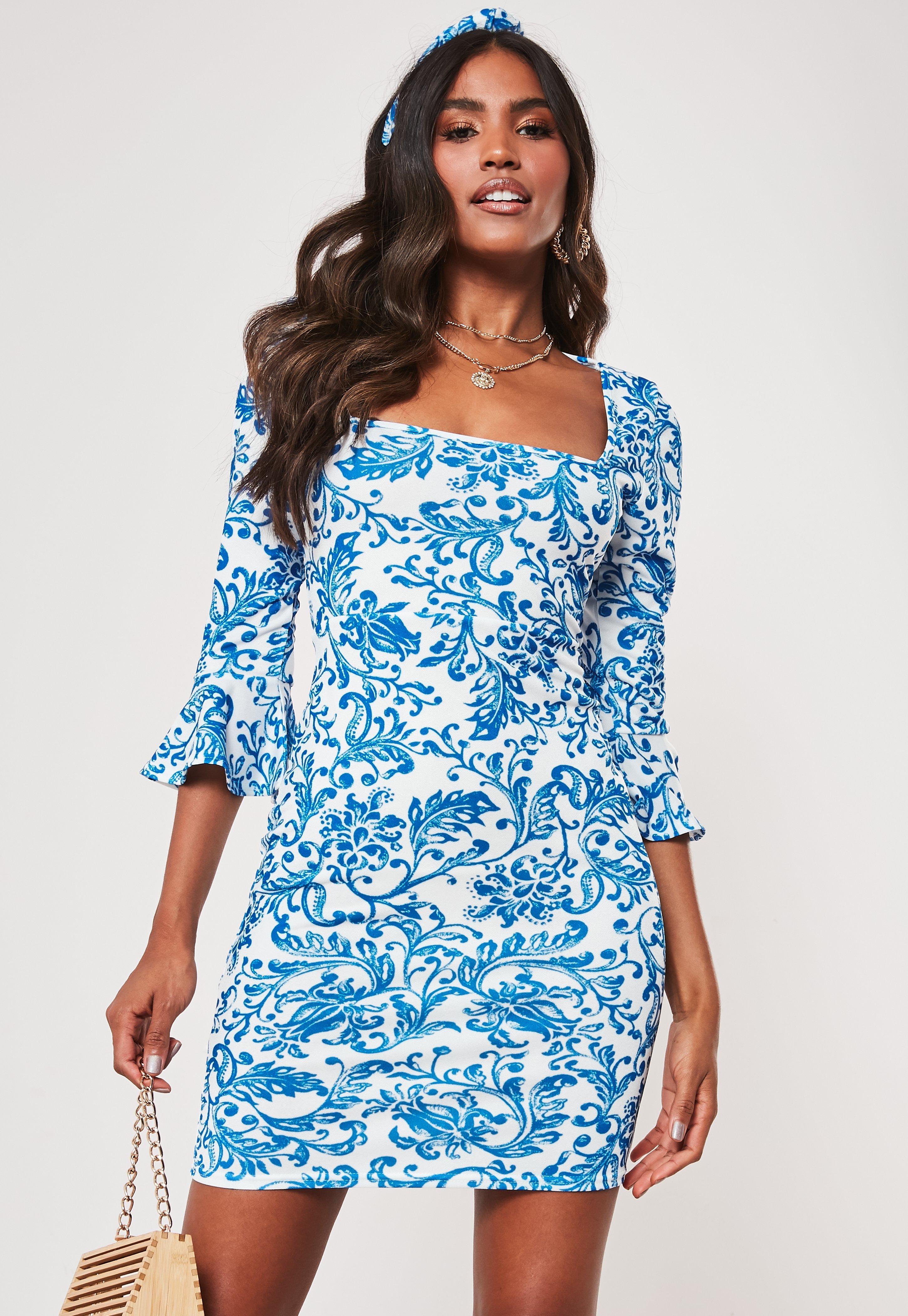 0871f01437 Sukienki z długim rękawem - Sukienki z Rękawem - Misguided