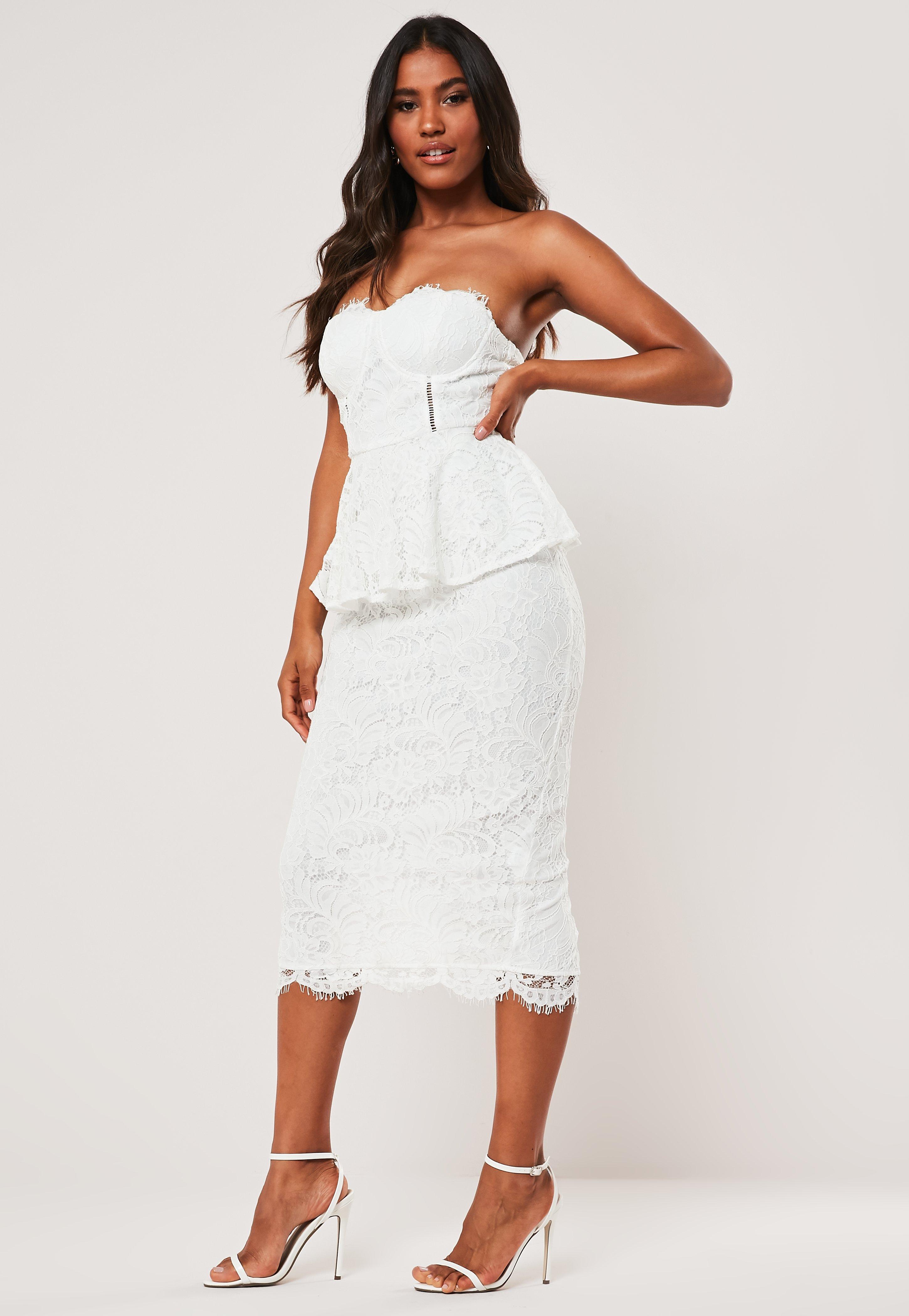 679ab087bc62 Midi Dresses UK | Knee Length Dresses | Missguided