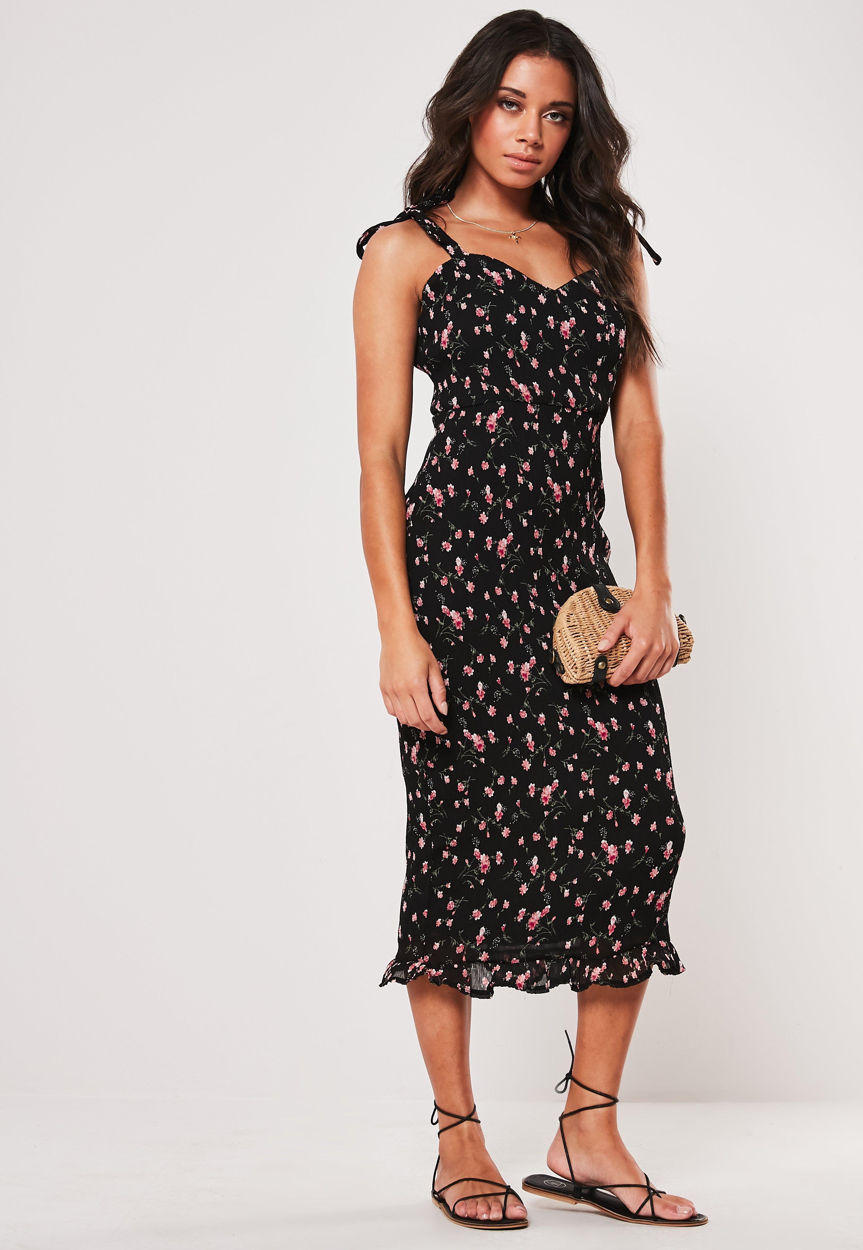 d1e5d375237ef Floral Dresses | Flower Print Dresses - Missguided Australia