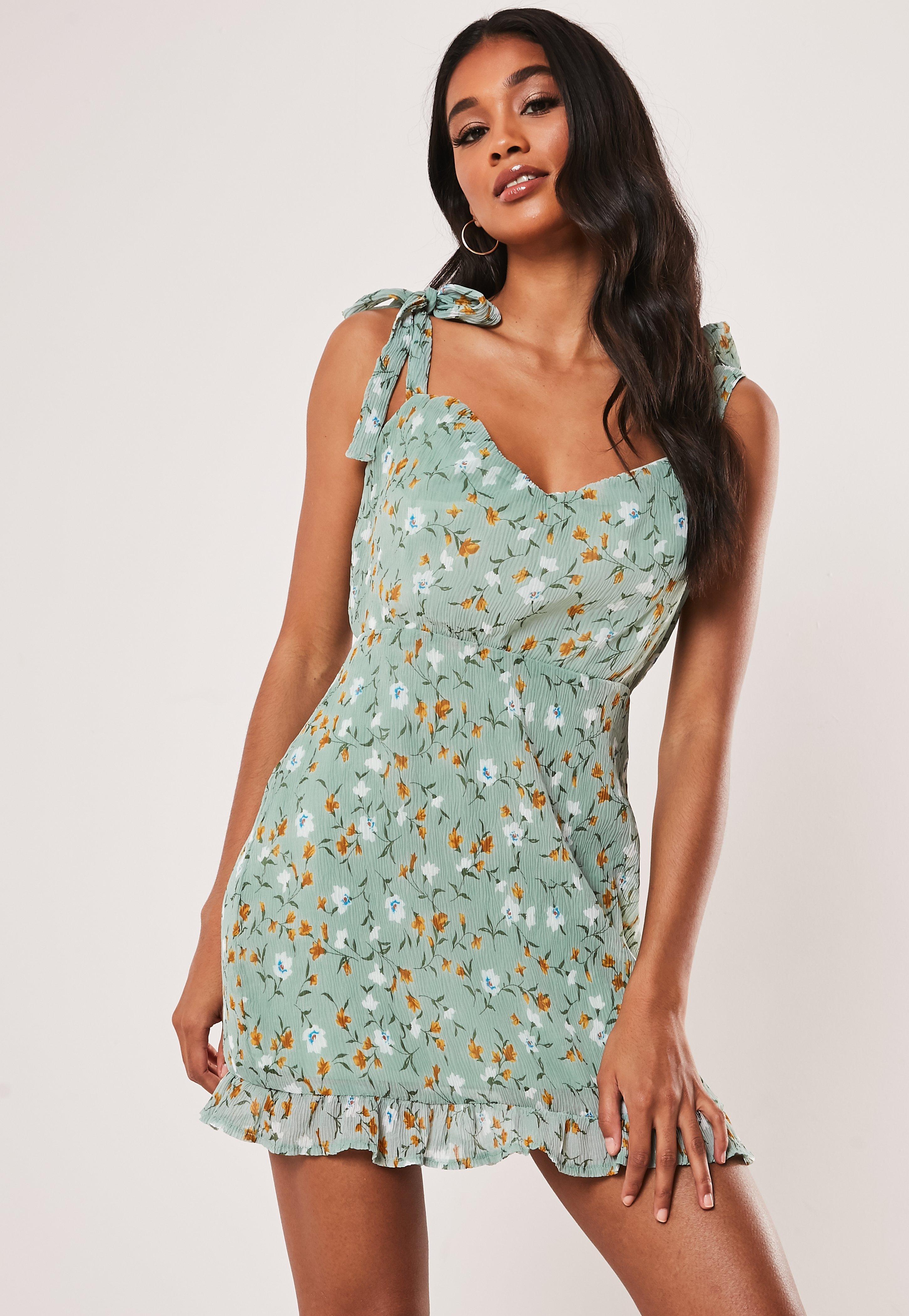 56467bd075e95 Floral Dresses | Flower Print Dresses - Missguided