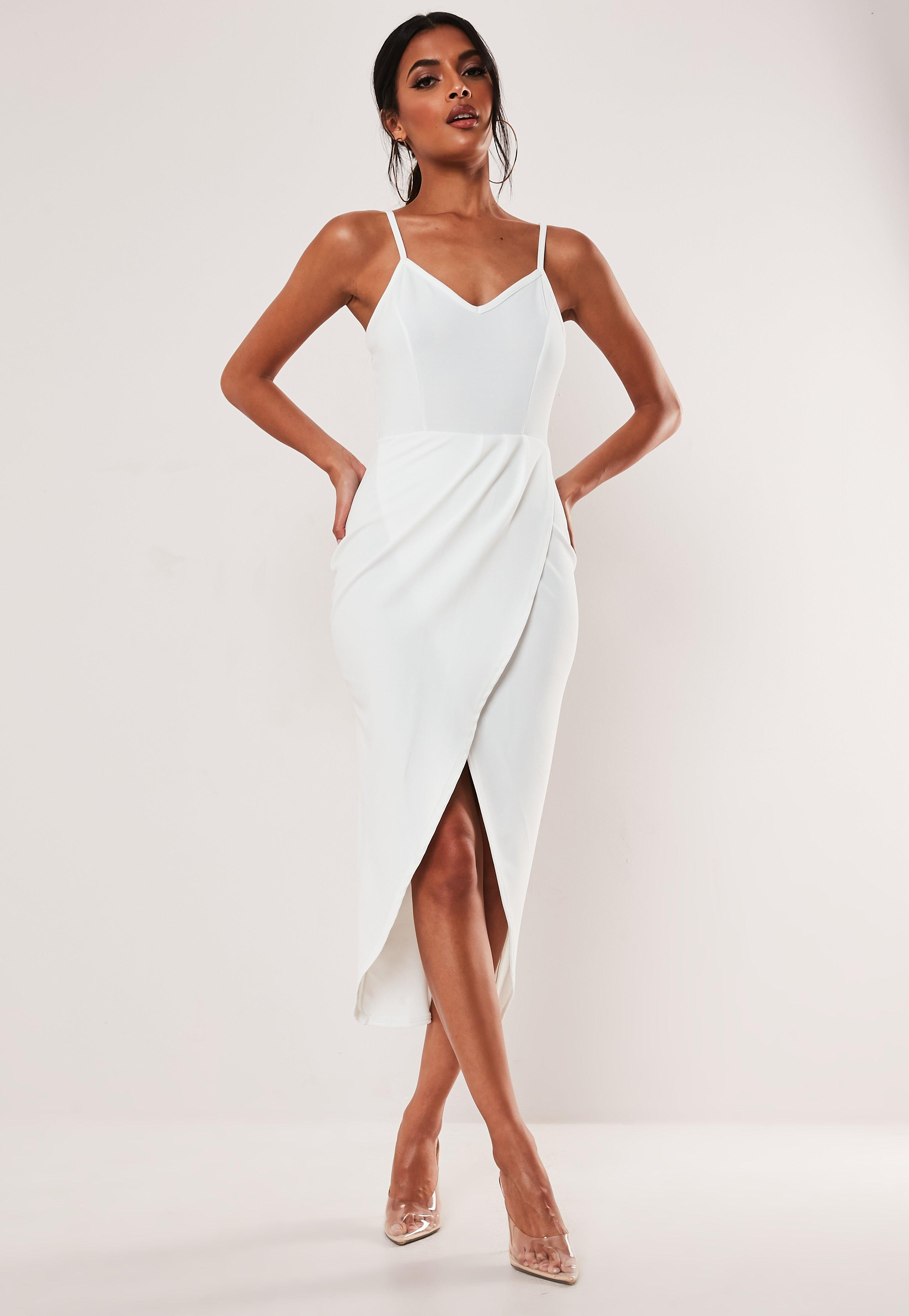 145ba72c53f9 Midi Dresses | Knee Length Dresses - Missguided Australia