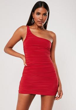 100fe034b9dc90 Red Dresses | Maroon & Dark Red Dresses - Missguided