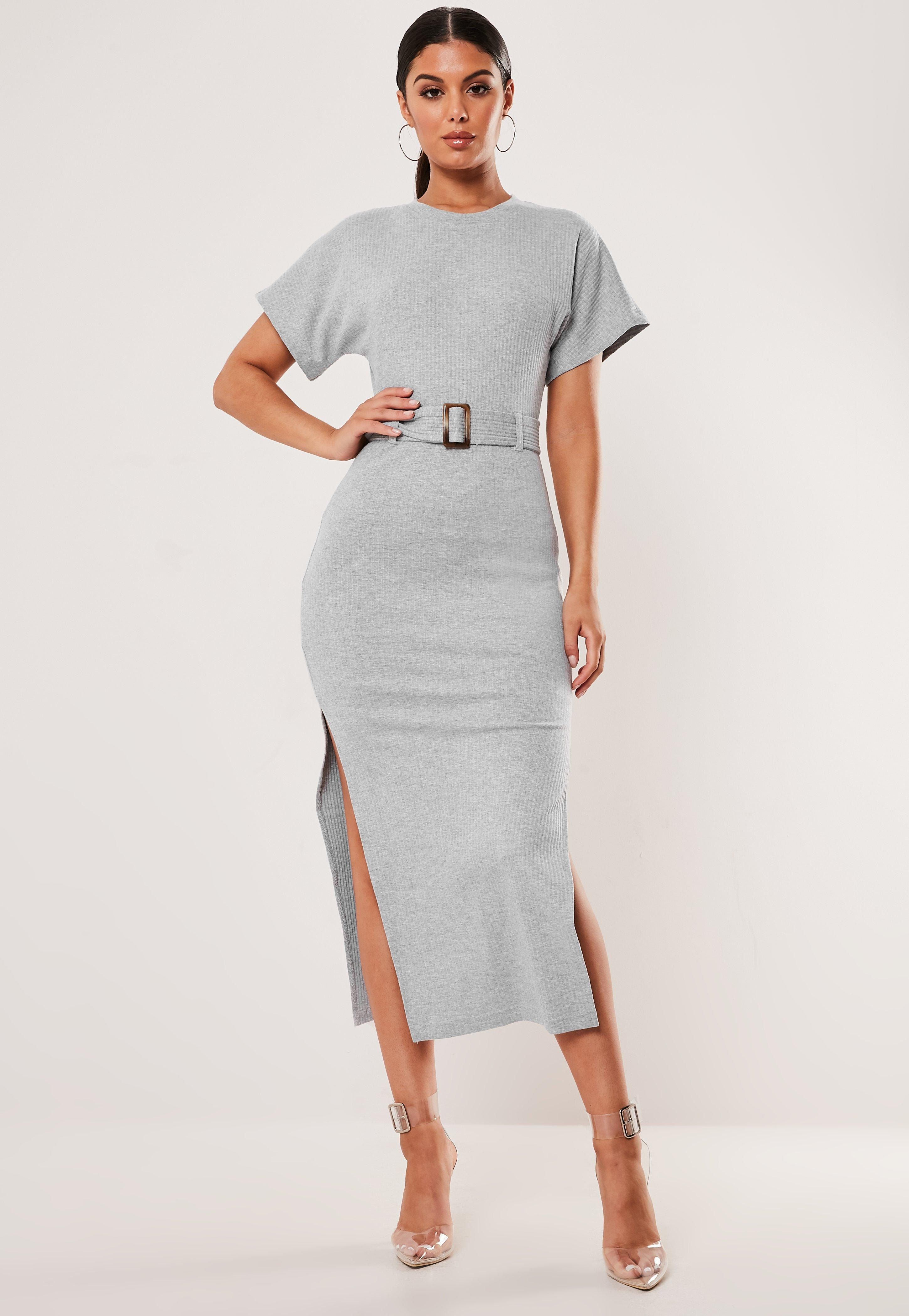 8f81d42bf3ee61 Bodycon Dresses | Nude, Grey & Green Bodycon - Missguided