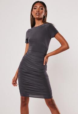 bc770045d T Shirt Dresses | Printed & Slogan T-Shirt Dresses - Missguided