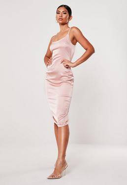 4ad73ec60ce26 Satin Dress - Silky Dresses Online | Missguided