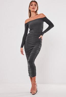 Off The Shoulder Dresses Bardot Dresses Online Missguided