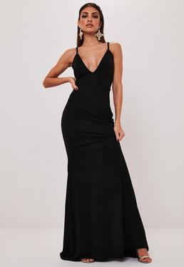 V Neck Dresses Plunge Neck Dresses Missguided Australia
