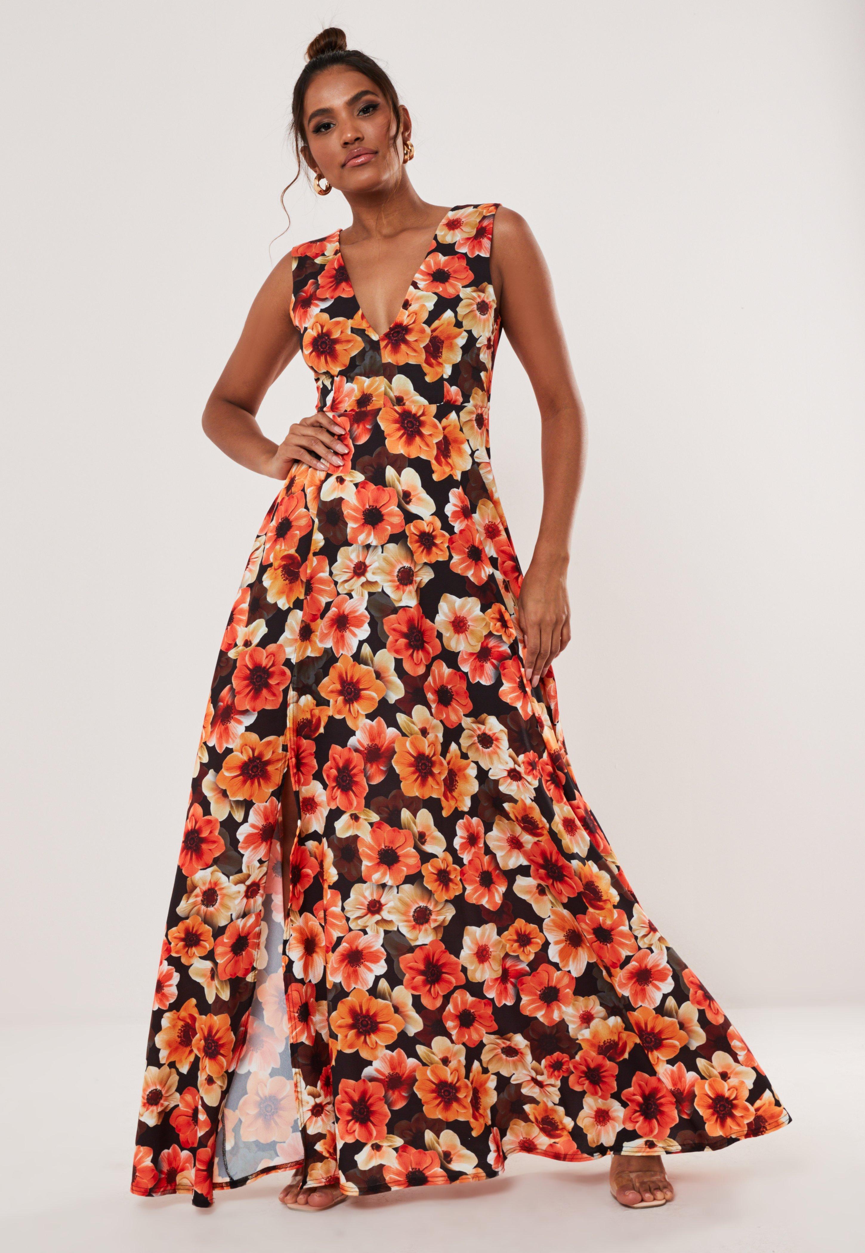picked up good out x promo codes Orange Dresses | Burnt Orange & Rust Dresses - Missguided