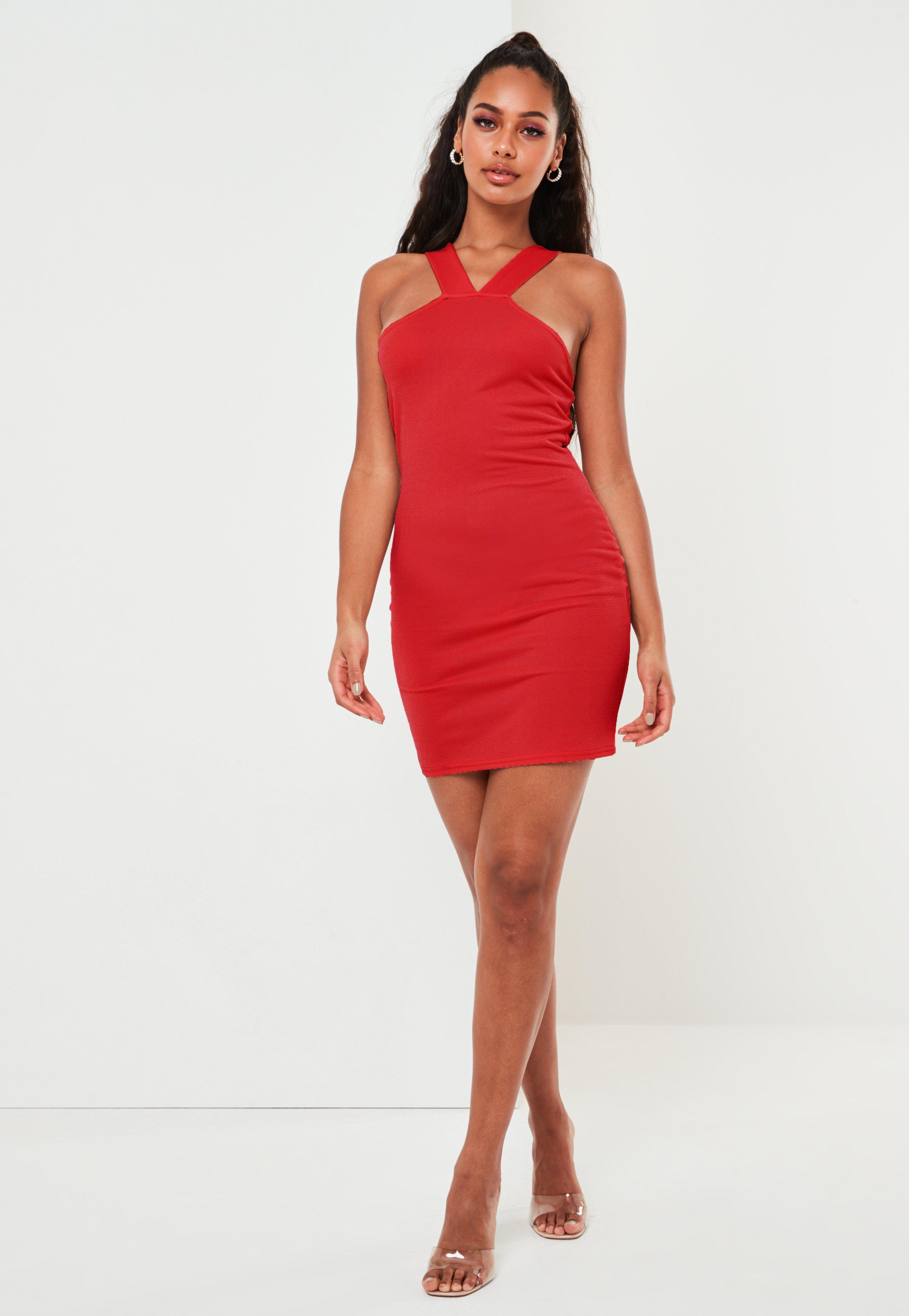 rot formal mini kleid amazon 27507 d42ac