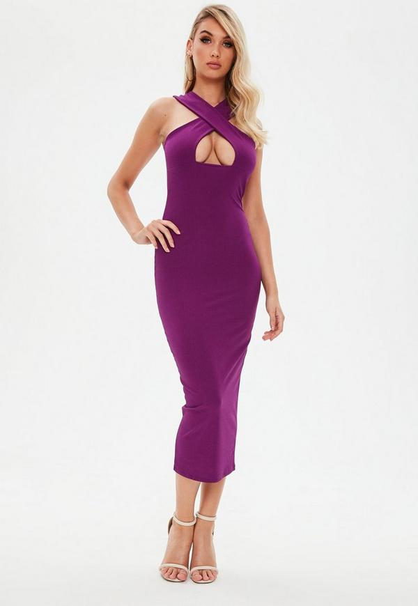 Purple Maxi Dress