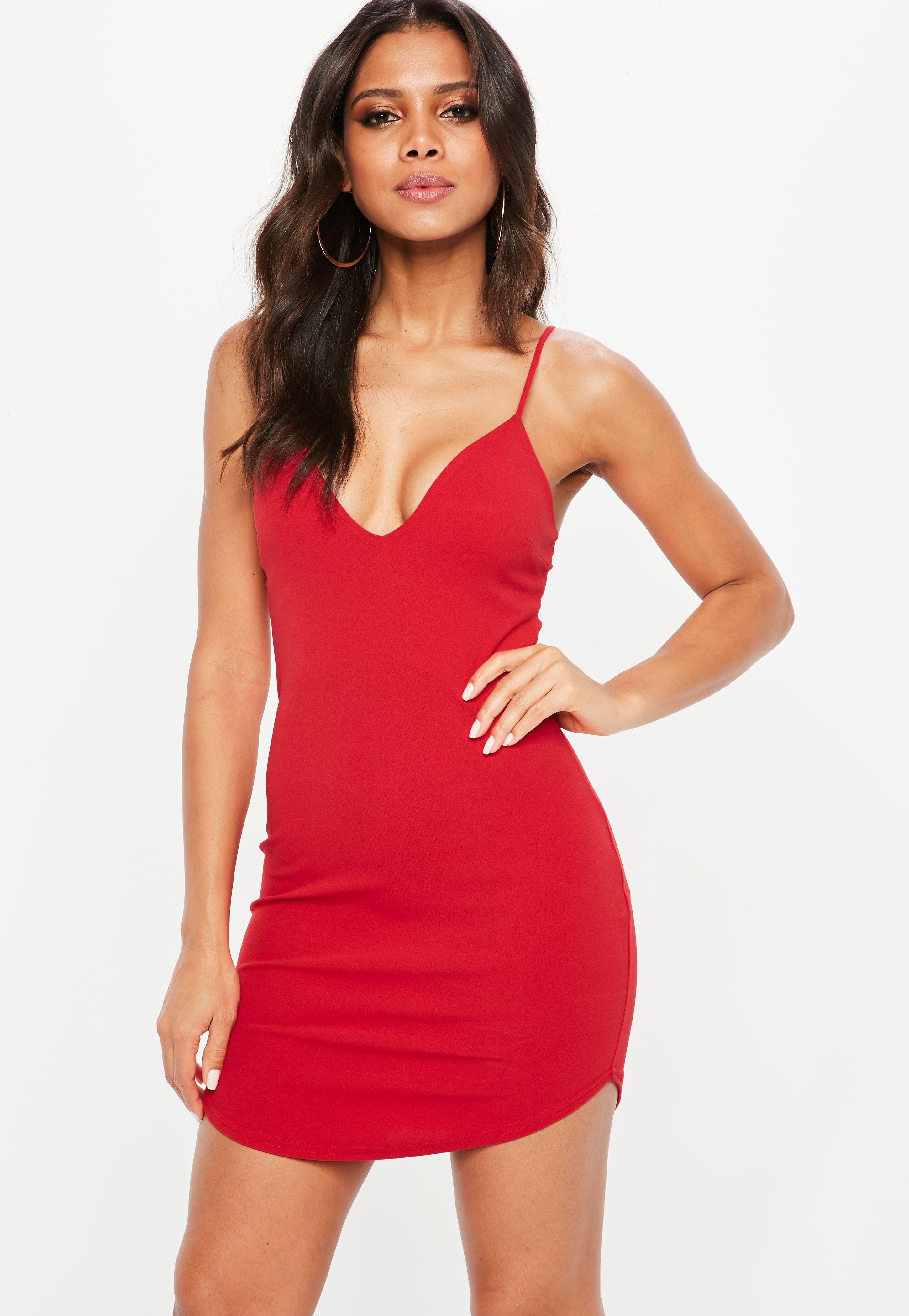 fa6c409537 Red Bodycon Dresses