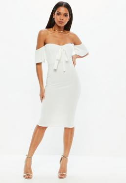Gemeinsame Weiße Kleider | Kurze weiße Kleider - Missguided DE #JT_76