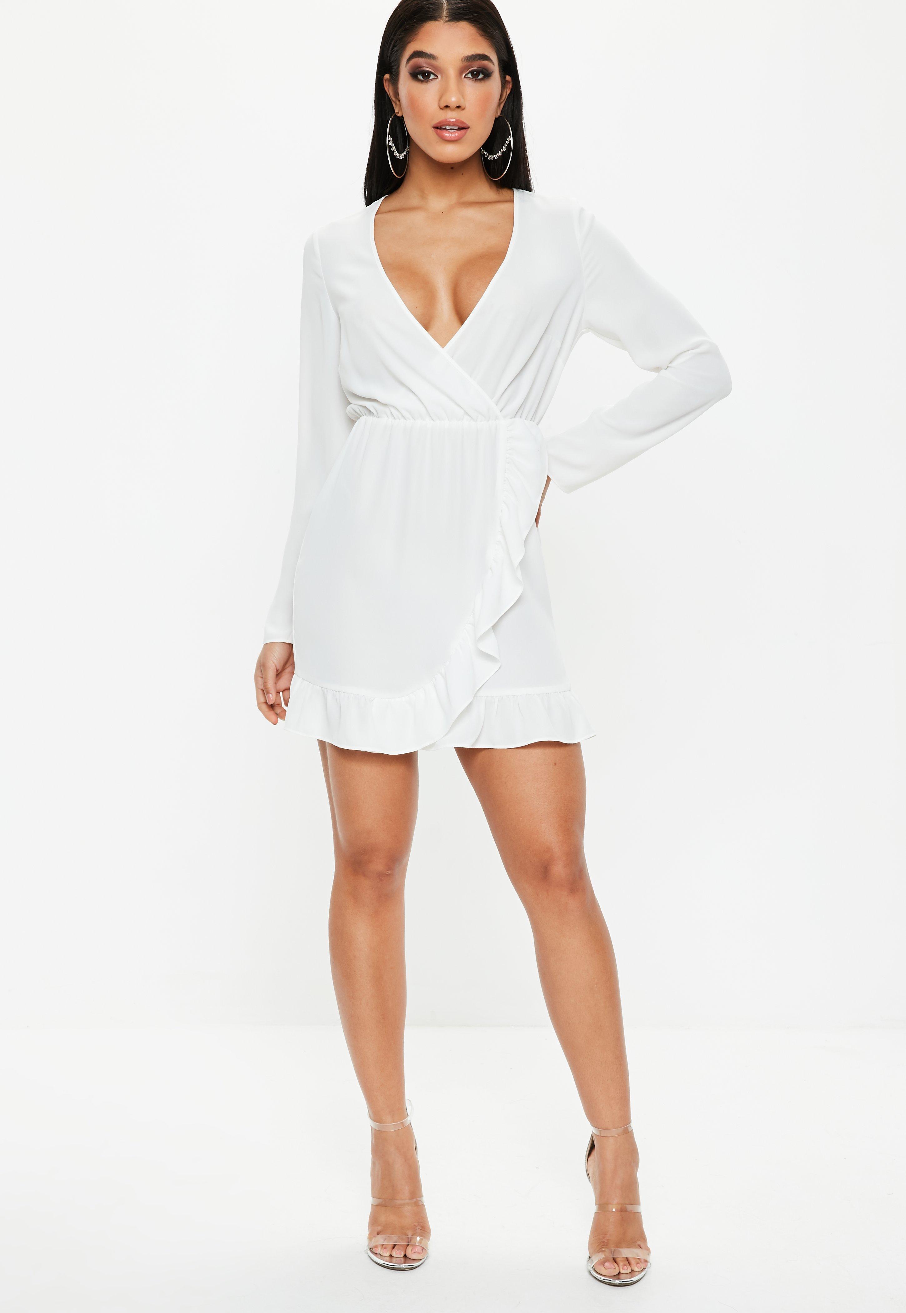 Weiße Kleider | Kurze weiße Kleider - Missguided DE