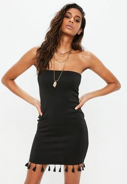 Strapless Dresses Bandeau Amp Tube Top Dresses Missguided