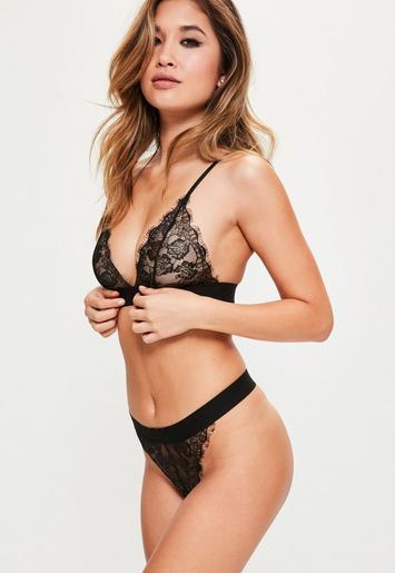 lingerie noire