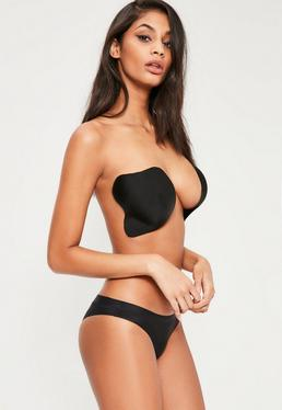 Black Illusion Invisible Bra