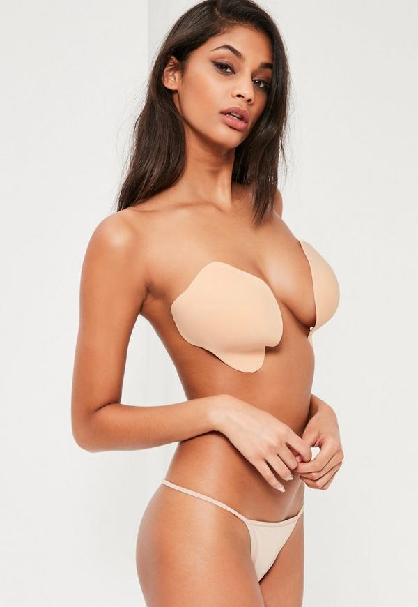 Nude Strapless Illusion Invisible Bra