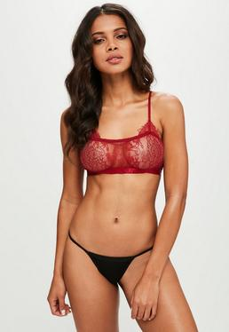 Red Lace Bralet