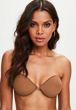 Tan Secret Stick On Strapless Bra