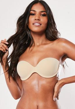Nude Secret Winged Stick On Strapless Bra