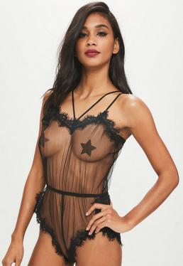 teddy lingerie, shop women's teddies online - missguided