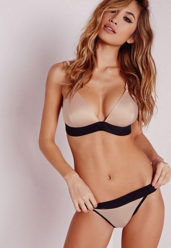 Satin panty models