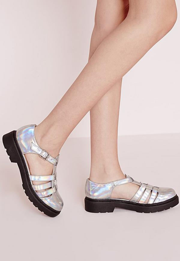 Holographic Geek Shoes