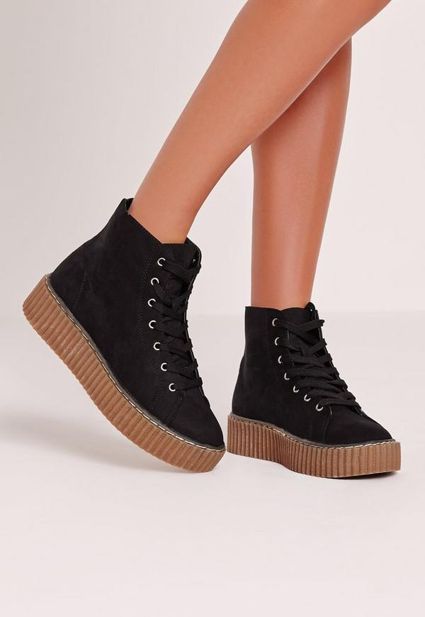 High Top Flatform Black
