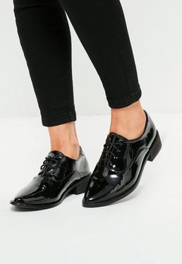 Chaussures richelieu noires à lacets
