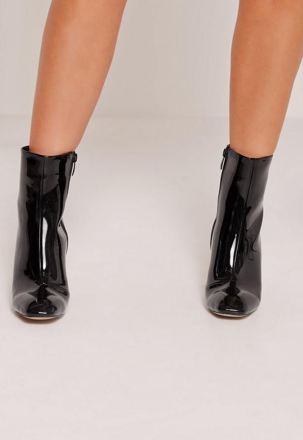 Top Moda EC89 Womens Foldover Lace up Low Chunky Heel