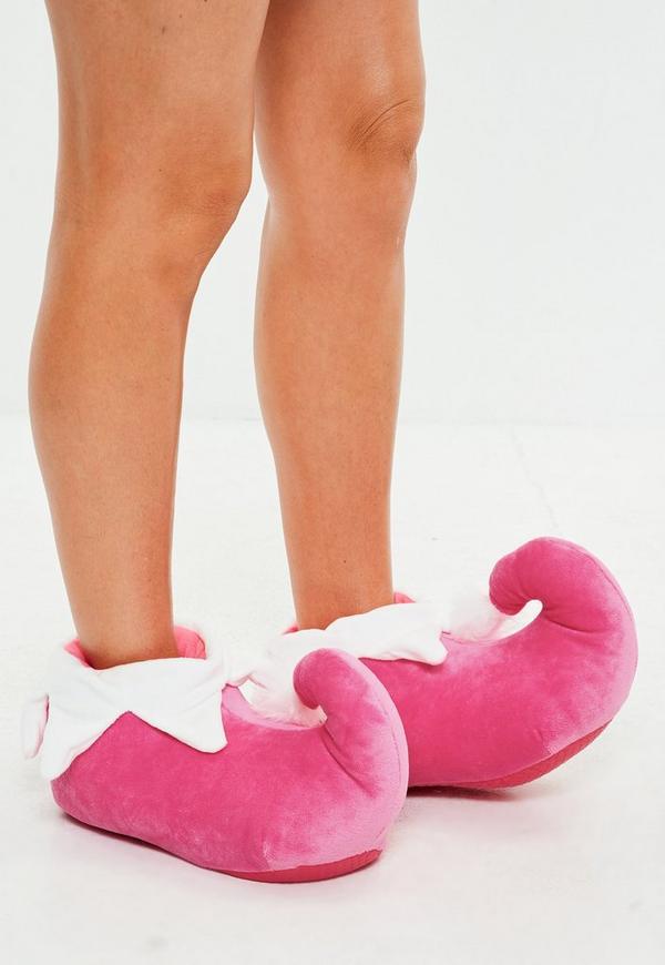 Elf Booties Pink