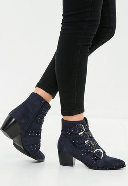 Black Rope Detail Heeled Sandals