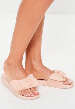 Pink Knot Detail Sliders