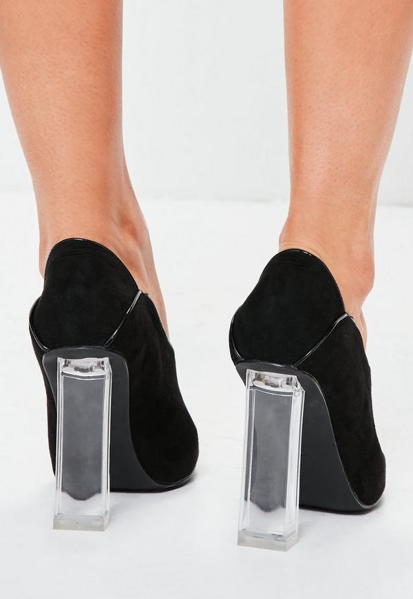 Vinyl Heel Shoes