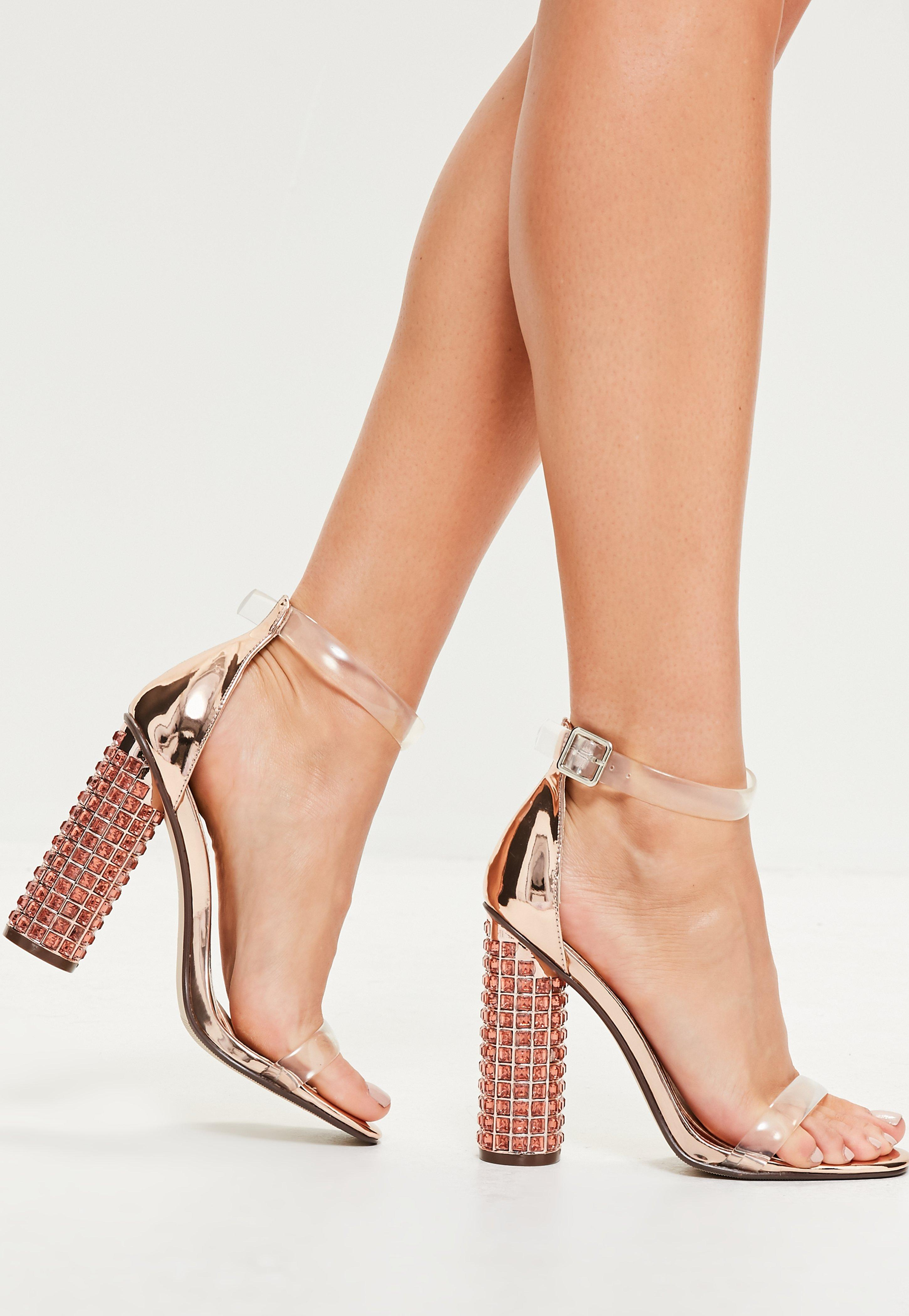 missguided sandales tan