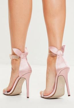 Nude Bunny Ear Strappy Sandals