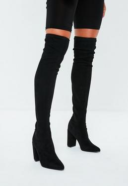 boots femme boots noires camel en ligne missguided. Black Bedroom Furniture Sets. Home Design Ideas