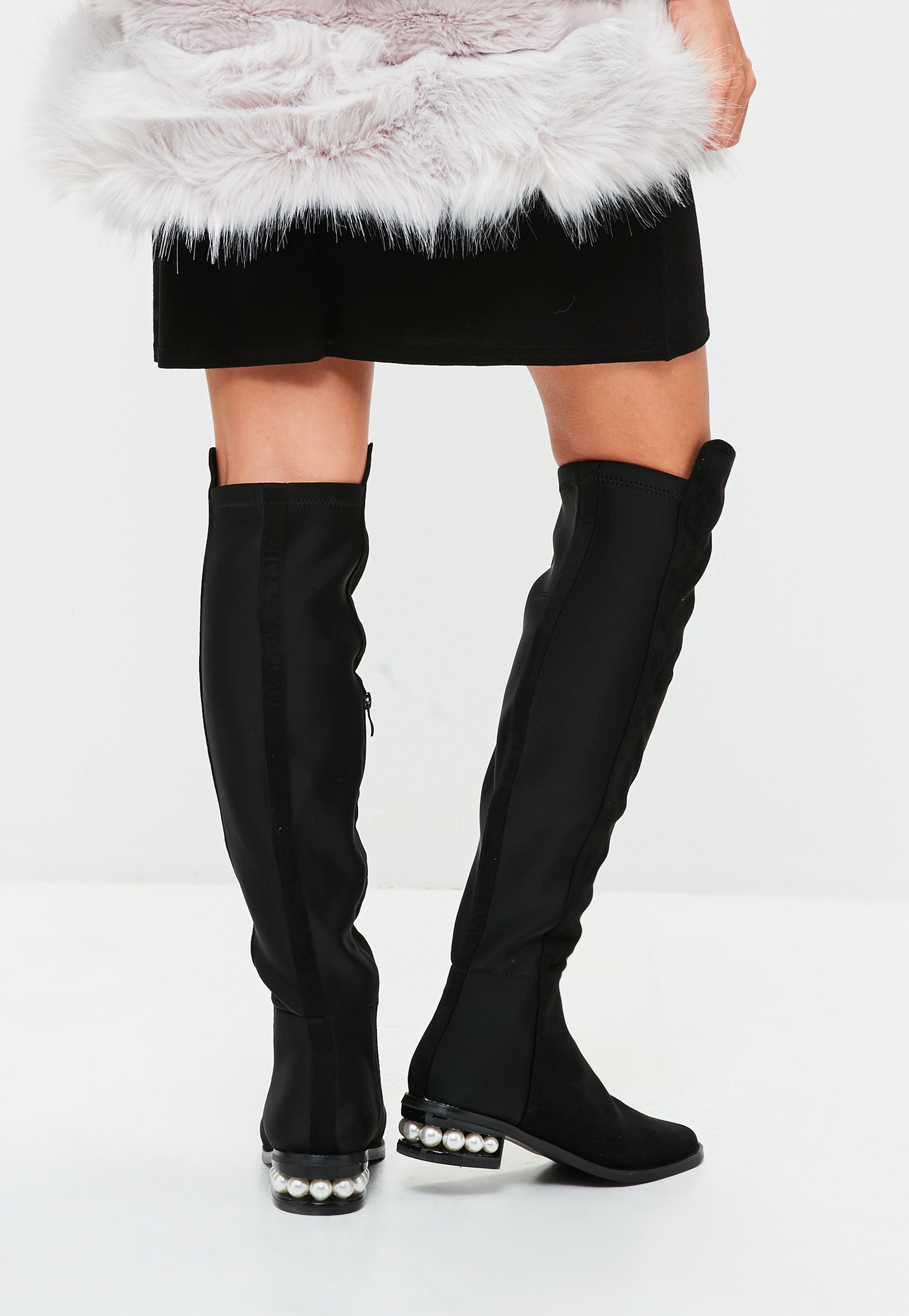 boots femme | boots noires & camel en ligne - missguided