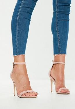 Barely There Heels · Nude Heels · Ankle Boots 8fc80bc25ff2