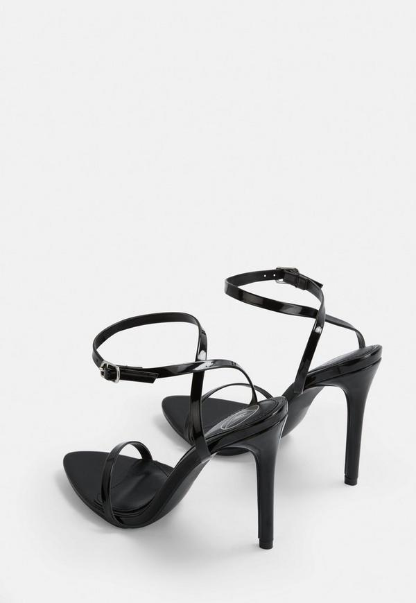 6c23dc974d3 ... Black Pointed Toe Barely There Patent Heels. Previous Next