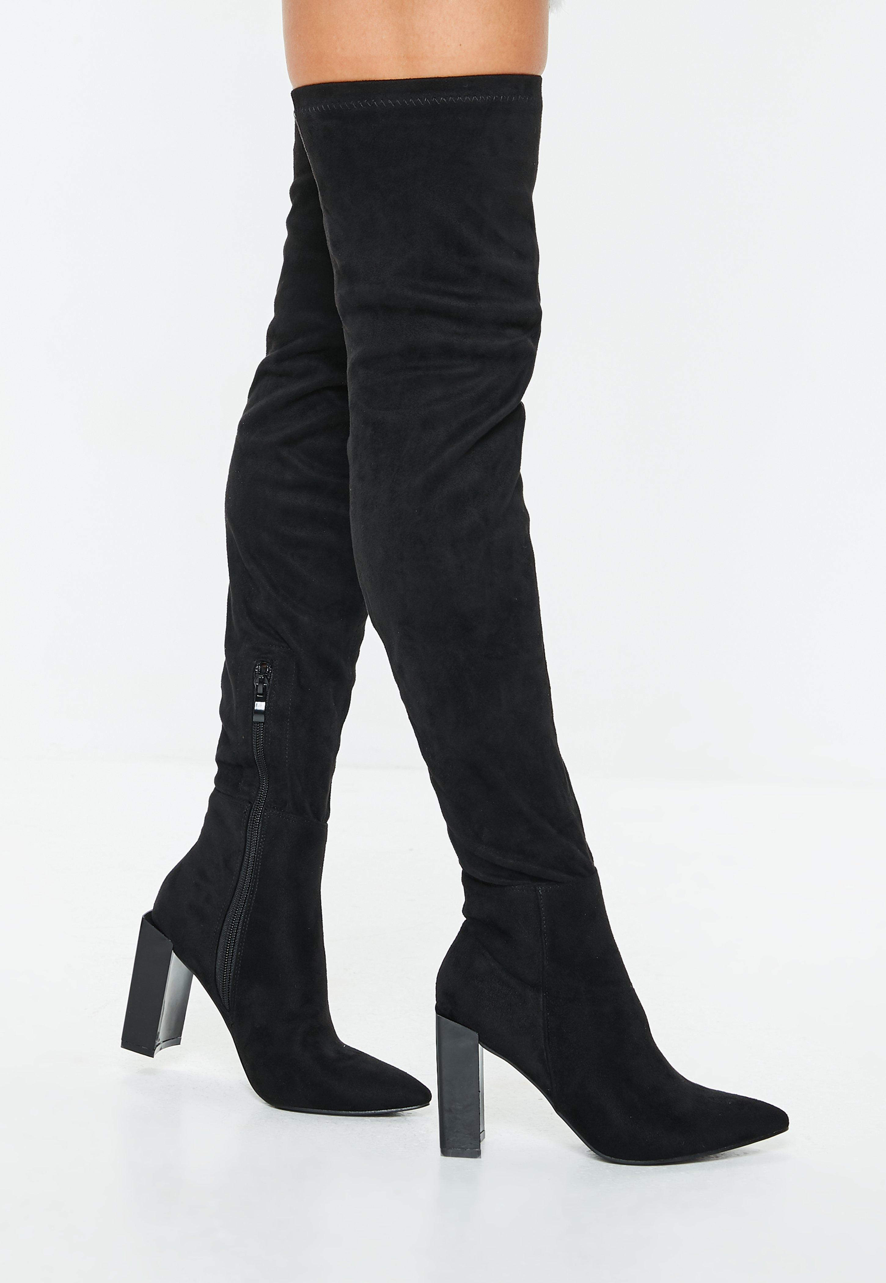 67240d36eef Thigh High Boots - Knee High Boots