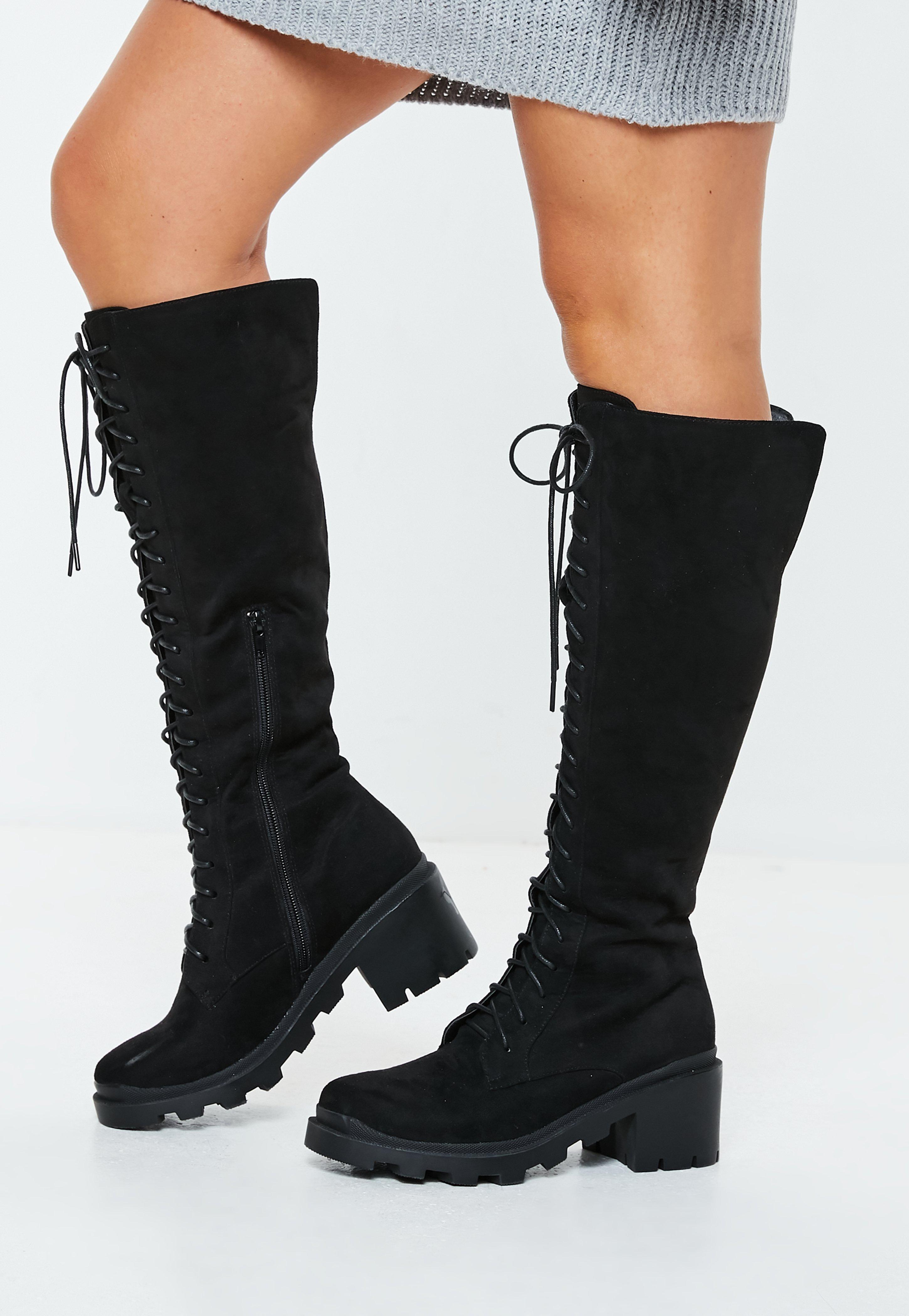 359cc3a34a360 Thigh High Boots - Knee High Boots