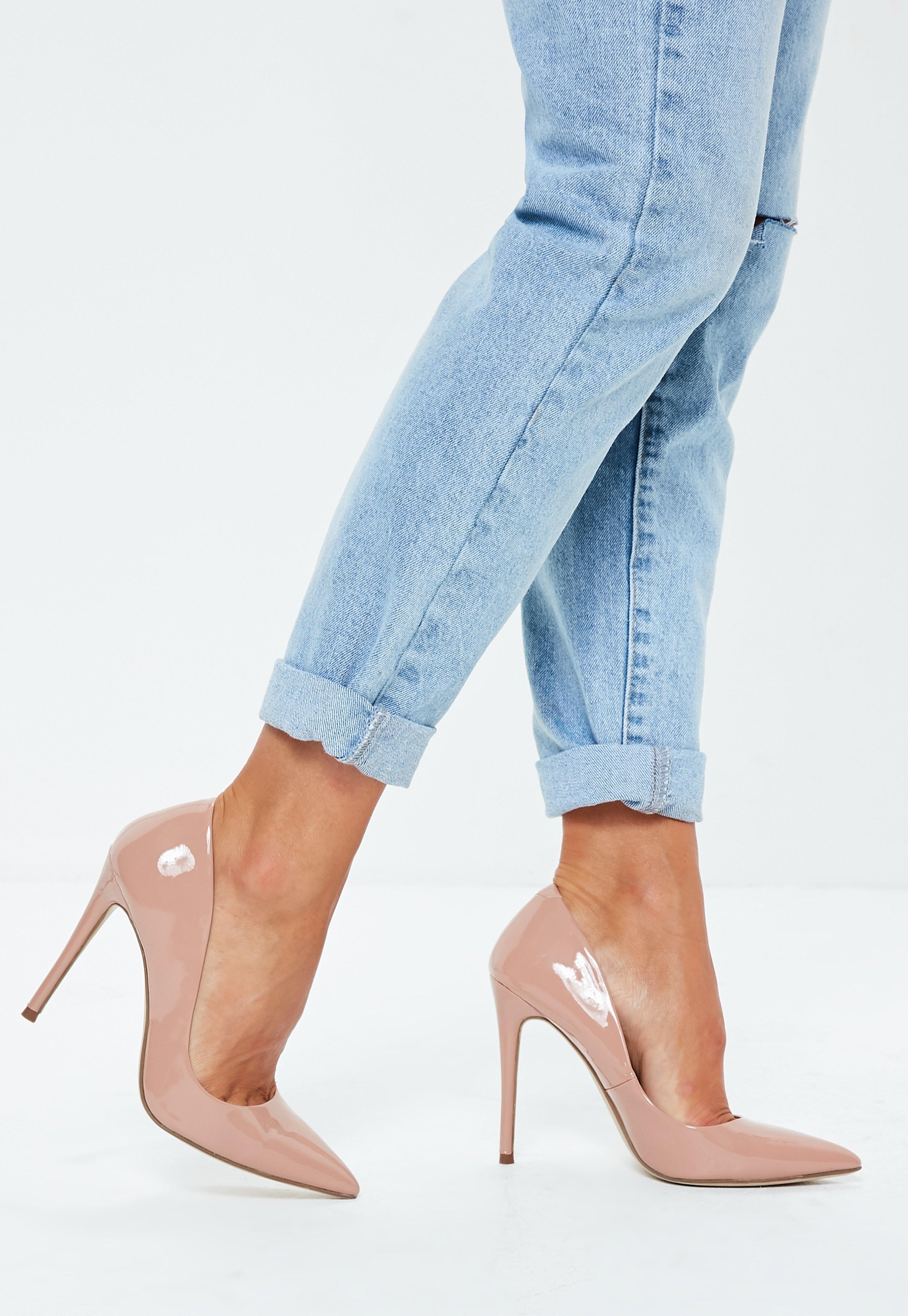 0e80a66f3531 Nude Patent Court Shoes