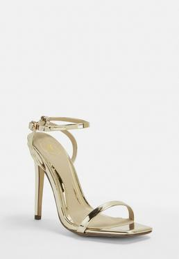 c55b75d1054 Black Barely There Heels · Gold Barely There Heels