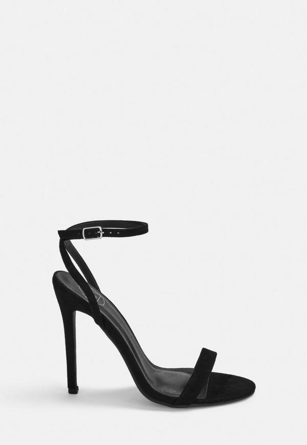 0d5f35b58dc White Basic Barely There Heels